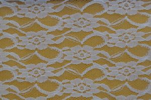 Beautiful Lace Fabric 2017flora Design White Material for Trimming and Daily Dress Ln10019 pictures & photos