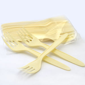 Customized Food Grade Disposable Fork and Spoon and Knife pictures & photos