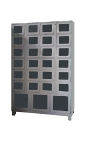 """23"""" Advertisement Screen Control Cabinet + 27cells Locker pictures & photos"""