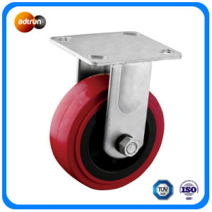 Heavy Duty Fixed Plate Casters pictures & photos
