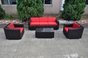 Garden Patio Wicker Rattan Lounge Set Outdoor Furniture Sofa Set (MTC-295) pictures & photos