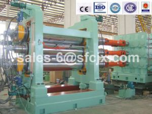 Tree Rolls Rubber Calender Machinery for Rubber Sheet (XY-3L 450X1500) pictures & photos