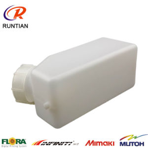 New Model Printer Machina Parts White Color 1L System Ink Bottle pictures & photos