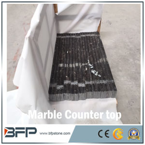 Natural Polished Black New Marble Vanity Top and Countertops pictures & photos
