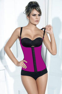 Women′s Classic 3 Hooks Latex Waist Trainer Shapewear Colombian Waist Cincher pictures & photos
