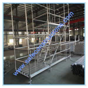 Safe Ce Passed Cuplock System Scaffolding for Construction. pictures & photos
