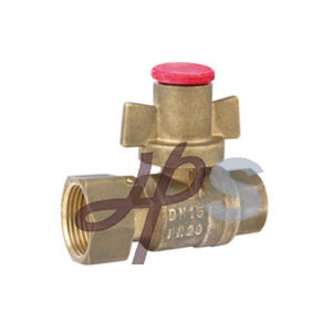 Brass Magnetic Lockable Ball Valve for HDPE Pipe pictures & photos