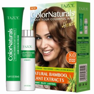 Tazol 50ml*2 Bamboo Hair Color Cream pictures & photos