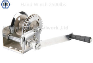 2500lbs Hand Winch Stainless Steel pictures & photos