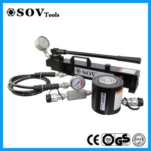 Hydraulic RAM Lifting Tools Single Acting 30 Ton Low Height Hydraulic RAM pictures & photos