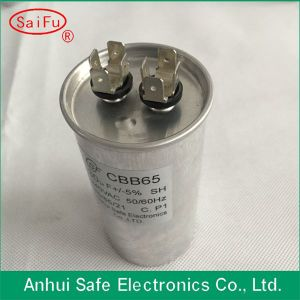 Cbb65 AC 450V 50/60Hz 40UF Motor Running Capacitor for Air Conditioner pictures & photos