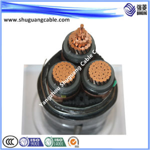Medium Voltage/XLPE Insulation/PVC Sheath/Swa/33kv XLPE Copper Cable pictures & photos