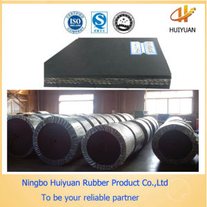Black Round Nylon Rubber Transportation Belt (NN100) pictures & photos
