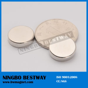 Grade N35 Sintered NdFeB Disc Magnet pictures & photos