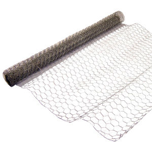 Galvanized and PVC Coated Hexagonal Wire Netting Roll pictures & photos
