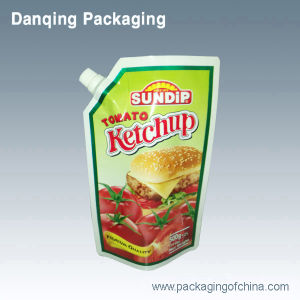 Ketchup Pouch, Doypack with Conner Spout pictures & photos