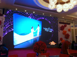 P3 Full Color Indoor Stage Background LED Display Screen pictures & photos