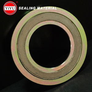 China Supply High Quality Spiral Wound Gasket Ss304 Basic Type with Inner CS and Outer Rings CS pictures & photos