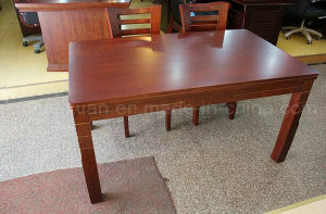Solid Wooden Dining Table Living Room Furniture (M-X2890) pictures & photos