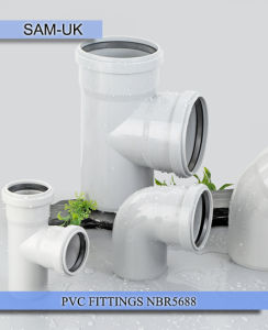 PVC Fittings NBR5688 pictures & photos