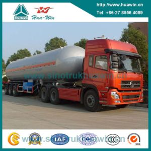 Heavy Duty BPW Axle 56000L LPG Tanker Semi Trailer pictures & photos