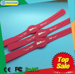 Fitness Center 13.56MHz Ntag215 Silicon RFID NFC Wristband pictures & photos
