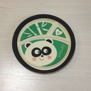 (BC-TP1014) Hot-Sell Eco Bamboo Fibre Multifuction Tray with Print pictures & photos