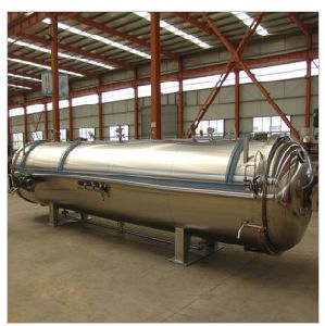 Recommended Food Industry Automatic Horizontal High-Pressure Steam Sterilizer