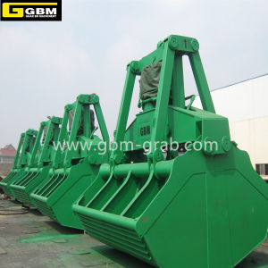 Gbm Electric Hydraulic Clamshell Grab Bucket Motor Hydraulic Grab pictures & photos