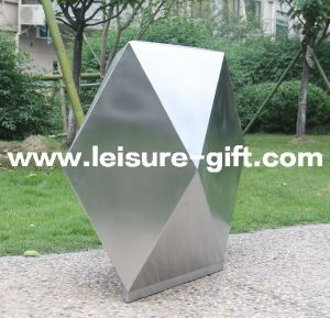 Fo-9046 Polygon Stainless Steel Planter for Garden Decoration pictures & photos