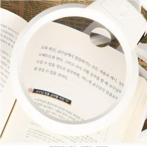 Portable Folding LED Desktop Magnifier Lamp/Lens/Loupe with Light (EGS-3B-4A) pictures & photos