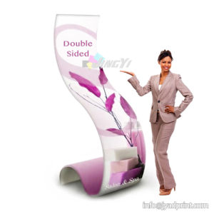Cobra Shaped Stretch Fabric Ez Tube Display Singular Banner Stand pictures & photos