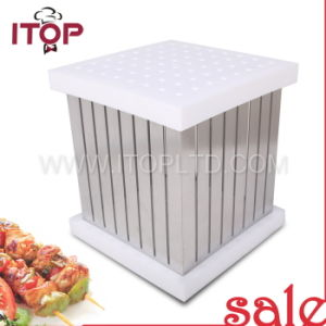 Rapid Wear Meat/Brochette Express/Kebab Maker Box (MB-1) pictures & photos