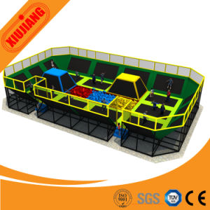 Fashion Commercial Indoor Trampoline Park Trampoline for Adult and Kids pictures & photos