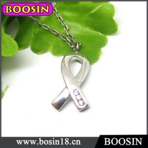 Breast Cancer Awareness Ribbon Charm Necklace #17151 pictures & photos