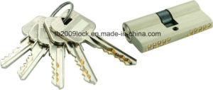 High Security Double Pins Groove Key Lock Cylinder (C3370-261SN) pictures & photos