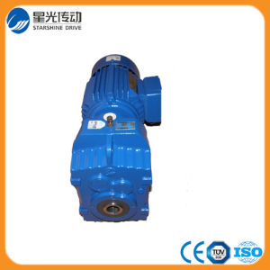 Helical Electric Motor with Reduction Gearbox pictures & photos