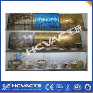 Huicehng Ceramic Tile Titanium Nitride Gold PVD Vacuum Metallizing Machine pictures & photos