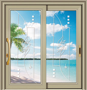 Latest Design Double Glazing Aluminum Sliding Window pictures & photos