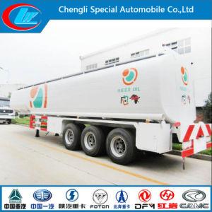 Factory Direct Sale Carbon Steel 3 Axle Petroleum Tank Trailer, 50cbm Fuel Trailer, 40m3 Oil Tanker Trailer for Sale pictures & photos