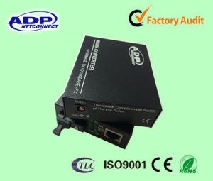 Single-Mode Dual Fiber Sc Fiber Optic Interface Media Converter pictures & photos