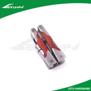 Mini Size Wood Handle Folding Pocket Multifunction Tool pictures & photos