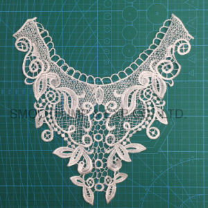 Wholesale Fashion Beautiful Machine Embroidery Lace Collar for Girls pictures & photos