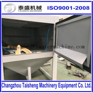 Manual and Automatic Turntable Sandblast Cabinet