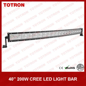 "41.5"" 200W Super Bright Single Row Curved LED Light Bars for Offroad with CE, RoHS, IP67 Certificated (TLB5200X)"