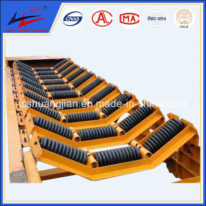 Rubber Impact Conveyor Idlers for Bulk Material Handling pictures & photos