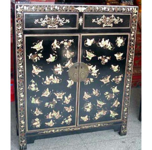 Asia Furniture Antique Reproduction Painted Cabinet (LWB151) pictures & photos
