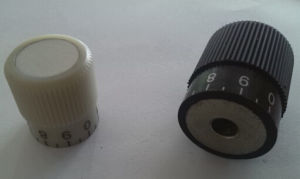 High Strength Aluminum Alloy Technopolymer-Knurled Grip Knob with Graduation pictures & photos