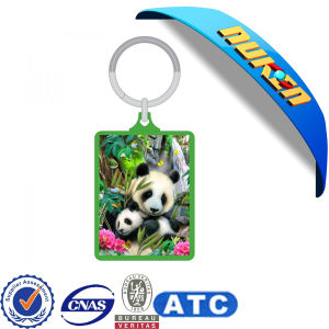 2015 Animals 3D Custom Production Keychain pictures & photos