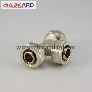 Male Thread Tee Compression Fitting pictures & photos